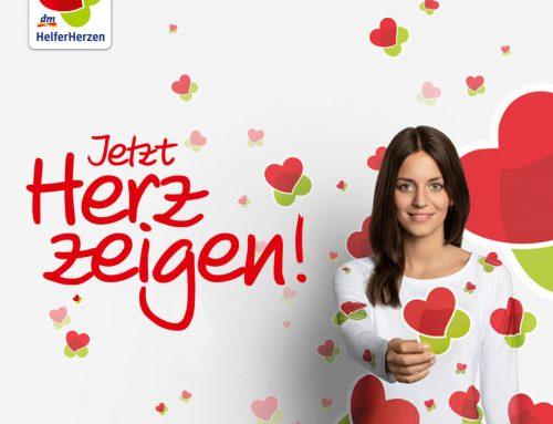 """dm-Aktion """"Jetzt Herz zeigen!"""" am 28.09."""
