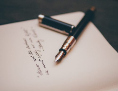 Gedicht eines Besuchers